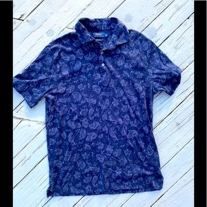 Polo by Ralph Lauren Classic Fit Paisley Polo S